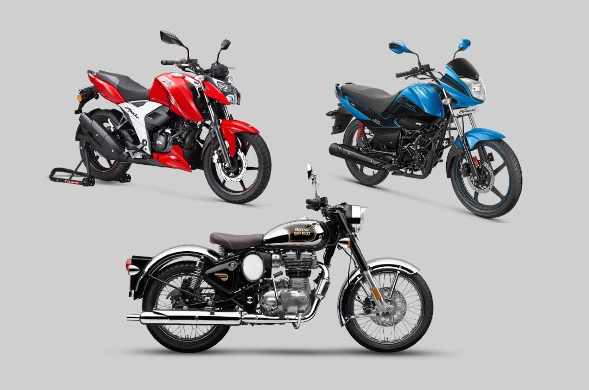 Bestselling motorcycles in October 2020