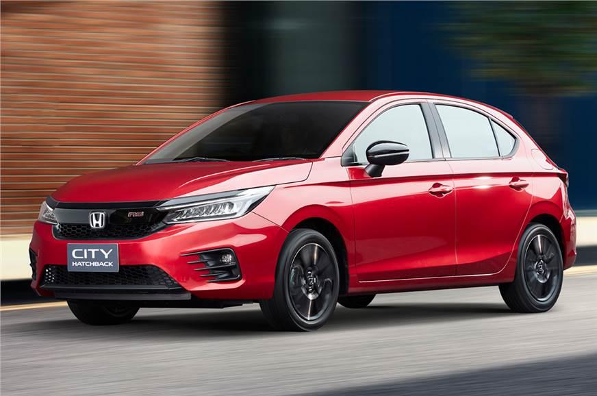 Honda City hatchback revealed