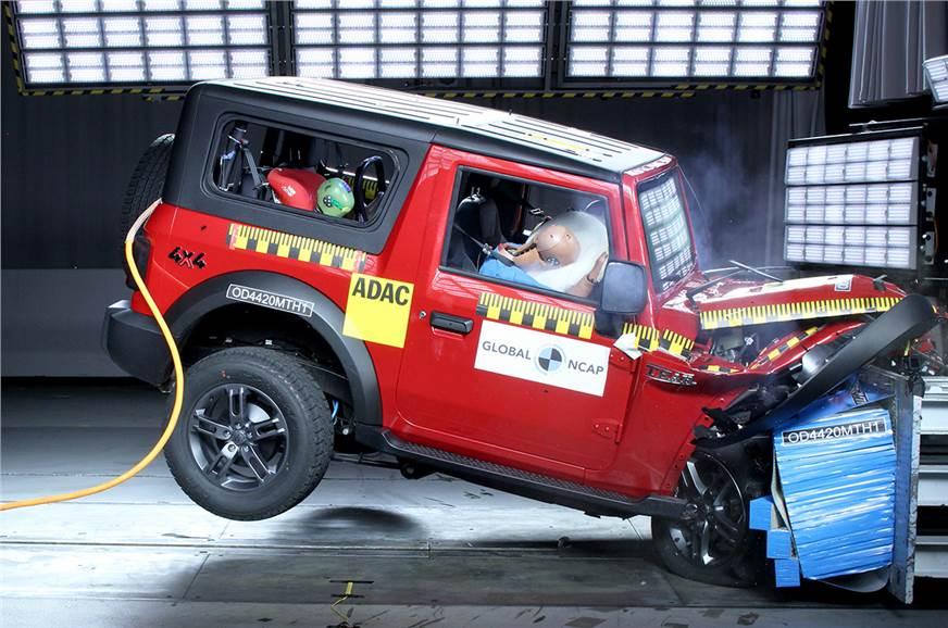 2020 Mahindra Thar secures four-star Global NCAP rating