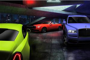 Rolls-Royce Dawn, Wraith and Cullinan get new neon colour options