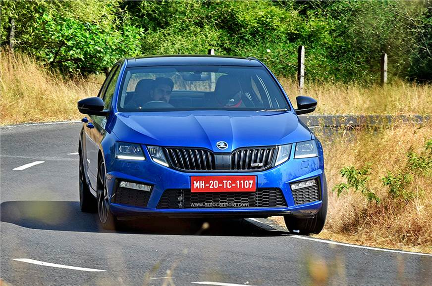 Skoda Octavia RS 245 review, test drive