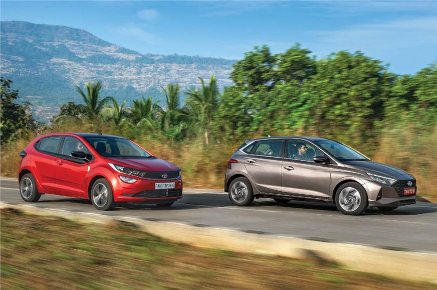 Hyundai i20 vs Tata Altroz comparison