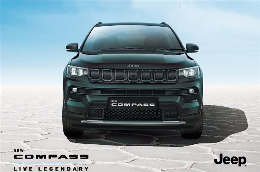 Updated Jeep Compass to launch on January 27, 2021