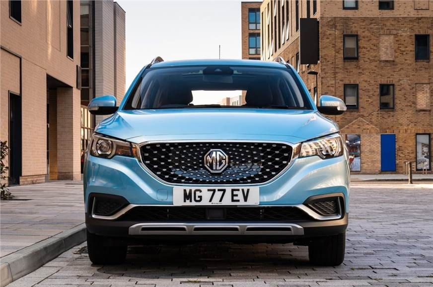 MG ZS EV with 500km range to be introduced by 2022