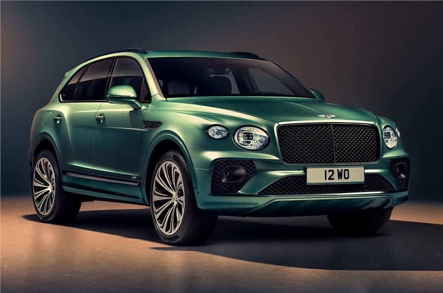 Bentley Bentayga facelift launched at Rs 4.10 crore