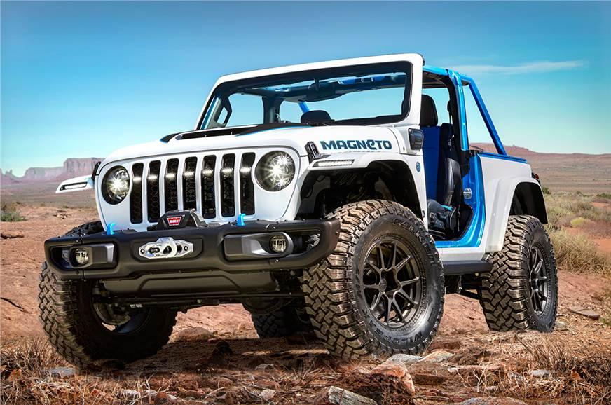 Jeep Wrangler Magneto EV concept revealed