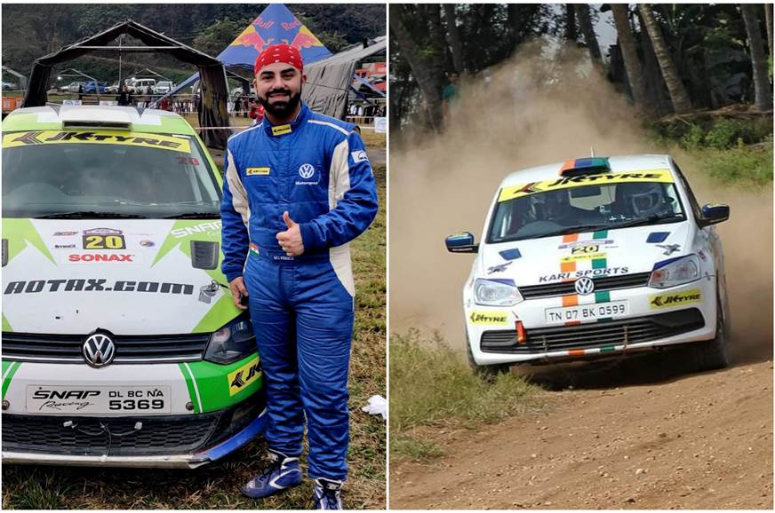 Rally racer MS Prince on switching from bike racing to INRC