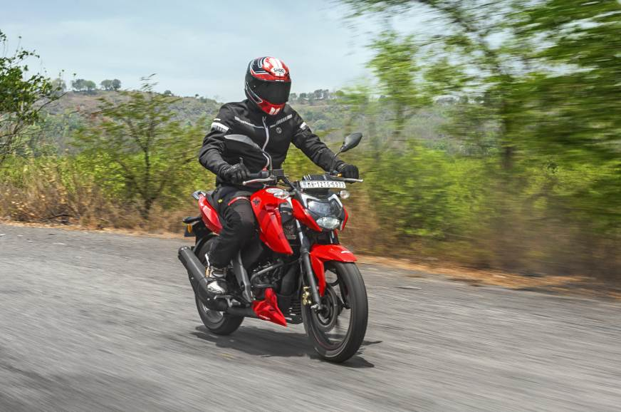 2021 TVS Apache RTR 160 4V review, test ride