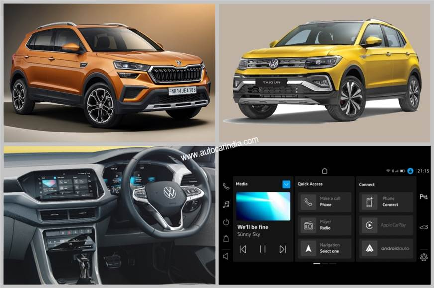 Skoda Kushaq, VW Taigun to get new 'Play' infotainment system