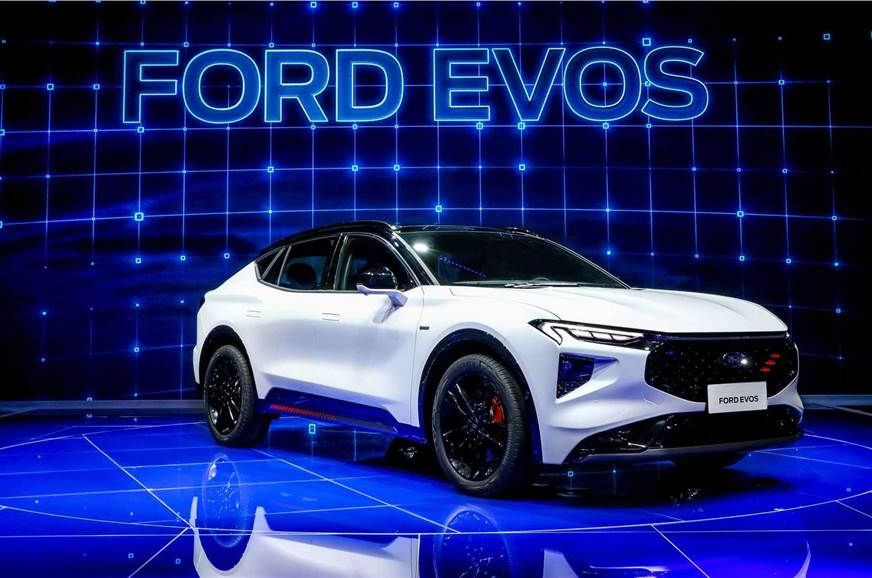 Ford Evos crossover revealed at the Shanghai Auto Show 2021