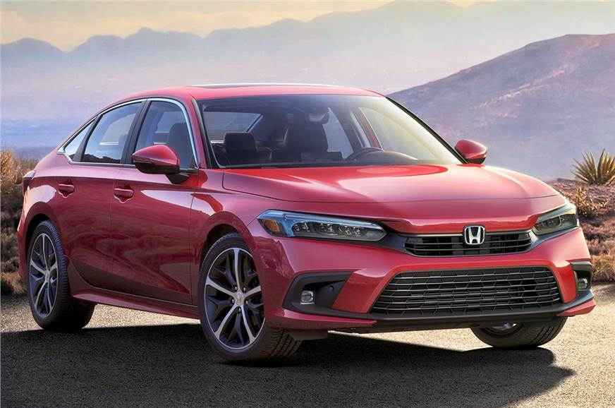 Next-gen Honda Civic sedan revealed