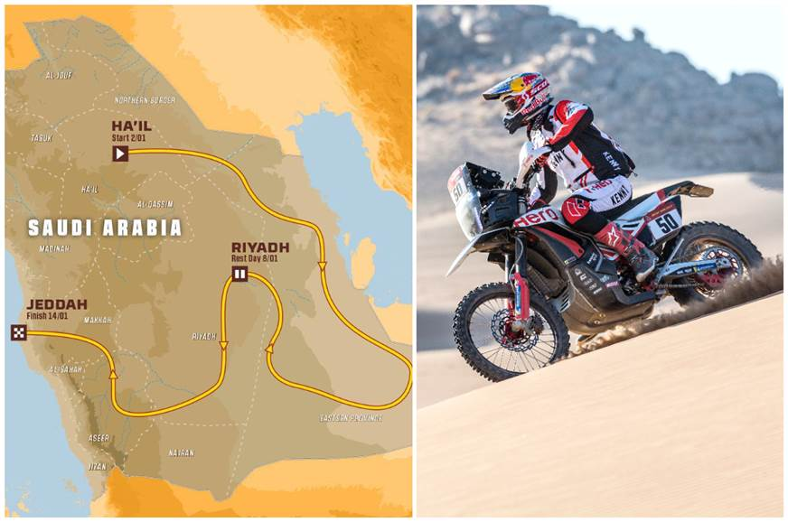 Dakar 2022 route, dates revealed