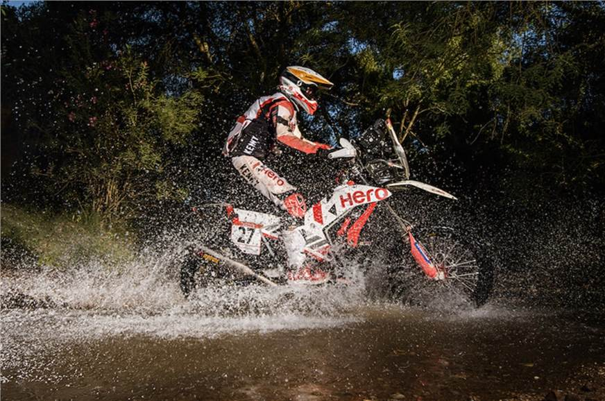 Hero MotoSports complete 2021 Andalucia Rally in top 5