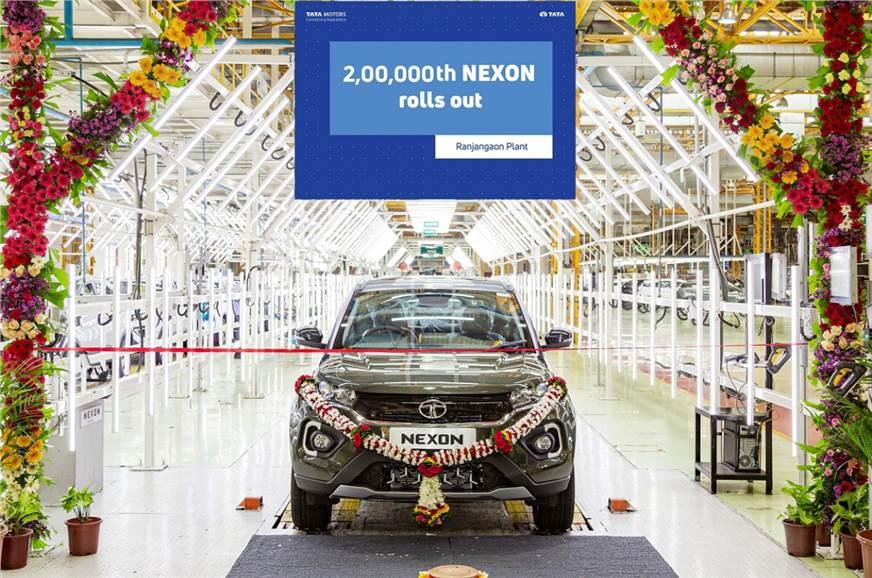 Tata Nexon reaches 2 lakh-unit production milestone
