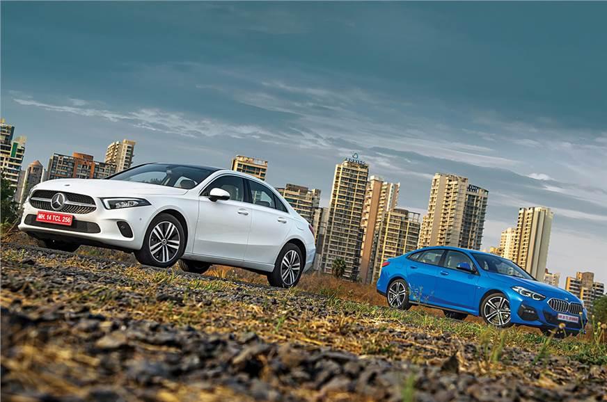 Mercedes-Benz A-class sedan vs BMW 2 Series Gran Coupe comparison