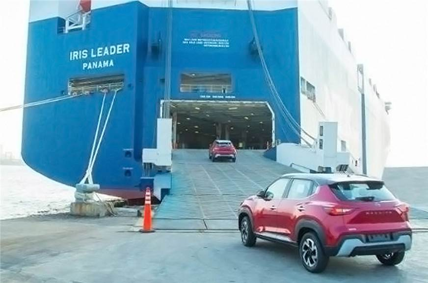 Made-in-India Nissan Magnite exports commence