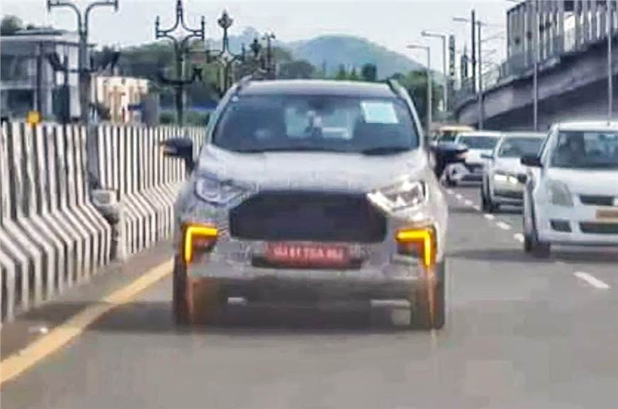 Ford EcoSport facelift coming later this year