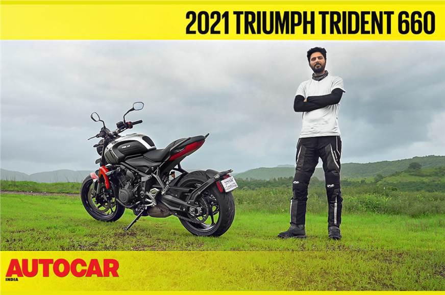 Triumph Trident 660 video review