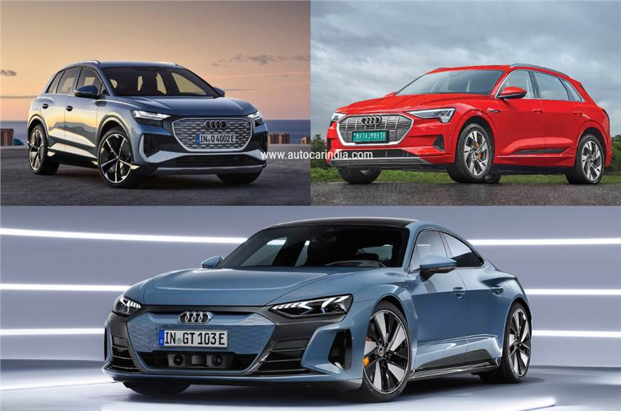 EVs expected to make up 15 percent of Audi India's sales by 2025