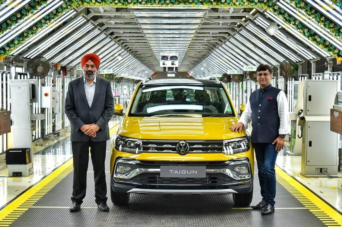Volkswagen starts Taigun production, launch next month