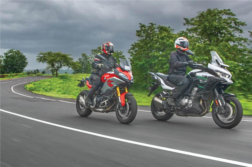 宝马F 900 XR Pro与川崎Versys 1000的比较