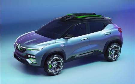 Renault Kiger concept image gallery