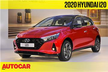 2020 Hyundai i20 first look video