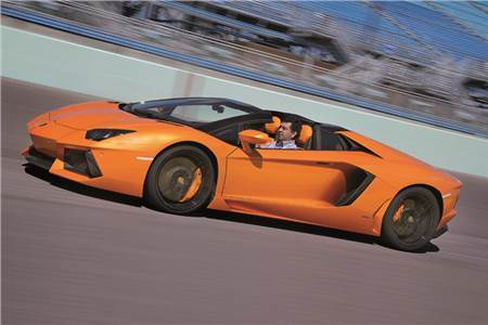Lamborghini Aventador Roadster review, test drive