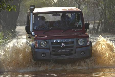 New Force Gurkha 4X4 review, test drive