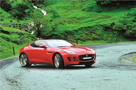 Jaguar F-Type Coupe India review, test drive