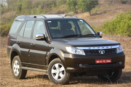 Tata Safari Storme facelift review, test drive