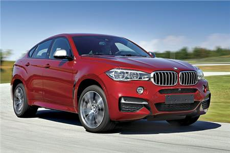 New BMW X6 M50d review, test drive