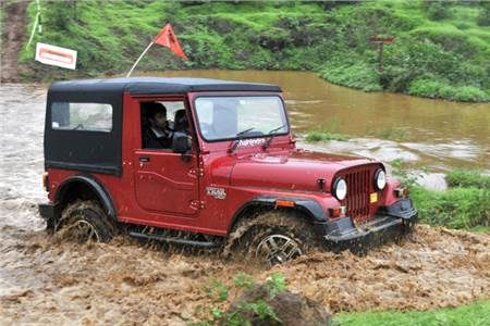 Mahindra Thar facelift review, test drive