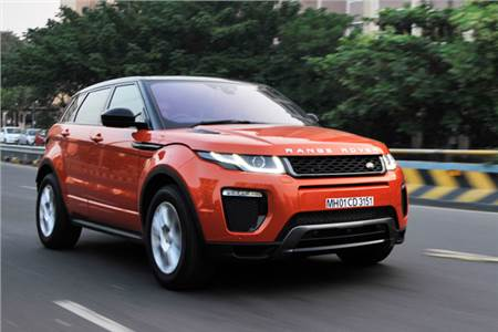Range Rover Evoque facelift review, test drive