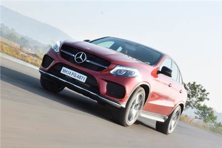 Mercedes GLE 450 AMG Coupe review, test drive
