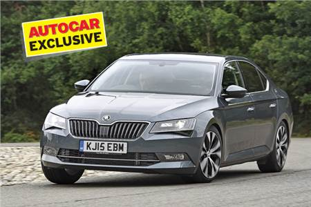 New Skoda Superb review, test drive