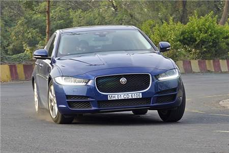 Jaguar XE 25t Portfolio India review, test drive