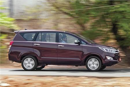 Toyota Innova Crysta review, road test
