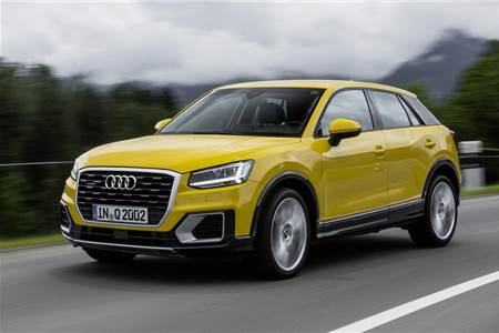 2016 Audi Q2 2.0 TDI review, test drive