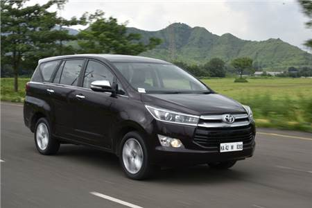 2016 Toyota Innova Crysta 2.7 petrol review, test drive
