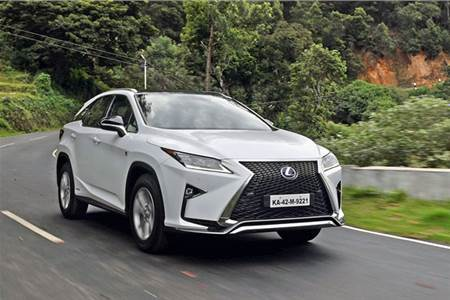 2017 Lexus RX450h review, test drive