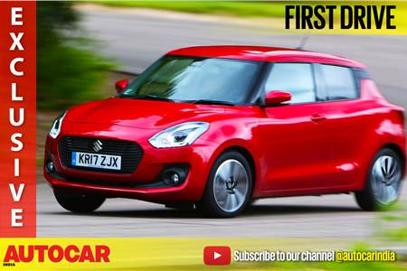 2018 Suzuki Swift video review