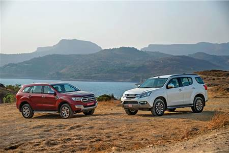 2017 Isuzu MU-X vs Ford Endeavour comparison