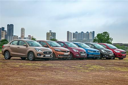 Dzire vs Tigor vs Xcent vs Ameo vs Amaze vs Aspire comparison