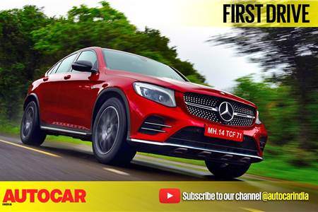 2017 Mercedes-AMG GLC 43 Coupe video review