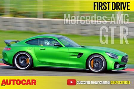 2017 Mercedes-AMG GT R video review