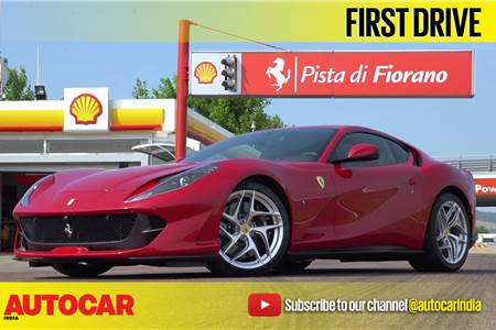 2017 Ferrari 812 Superfast video review