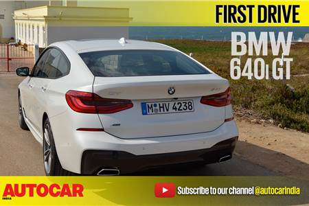 2017 BMW 6-series GT video review