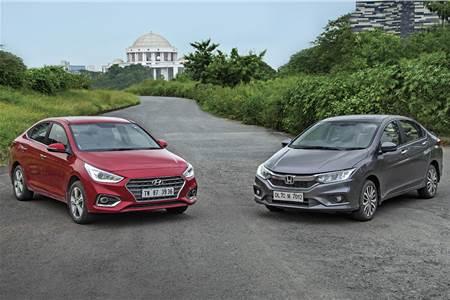 2017 Hyundai Verna vs Honda City automatic comparison