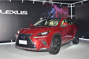 Lexus NX300h priced from Rs 53.18 Lakh